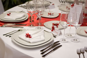 Tableware and Table Cloth Hire